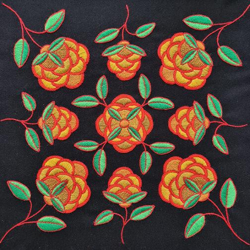 blomstermönster klöverblomma